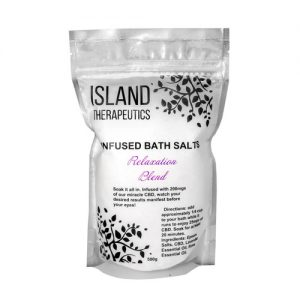 island infused bath salts cbd mail mary